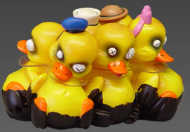Tub-Tastrophes - 6 Pwak of Ducks Oil Slick variant