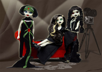 "Bleeding Edge Series 8 - 12"" Fashion Dolls Full Set of 3"