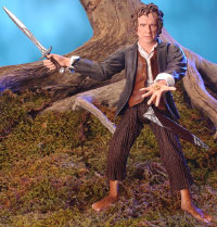 PROLOGUE BILBO with Sword Slashing Action