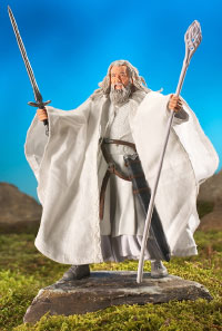 GANDALF THE WHITE with Sword Slashing Action