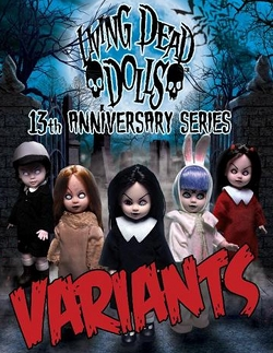 Living Dead Dolls 13th Anniversary Variant set of five