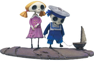 Skeleton Boy & Girl
