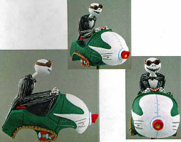 Wind-up Snowmobile