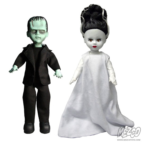 LDDs Presents Universal Monsters Frankenstein and the Bride