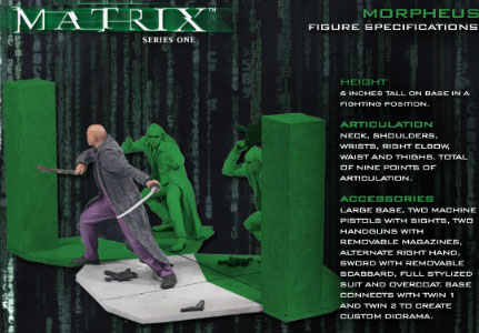 McFarlane Matrix Series 1 Figures: Morpheus