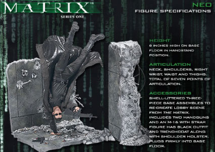 McFarlane Matrix Series 1 Figures: Neo